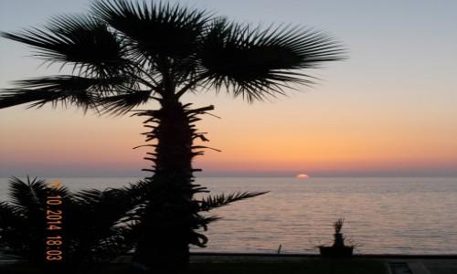 Zdjęcie ALBANIA / Durres / Durres / Zachód słońca w albańskim raju