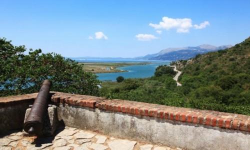 Zdjęcie ALBANIA / Saranda / Butrint - twierdza z XIV w. / Na wiwat