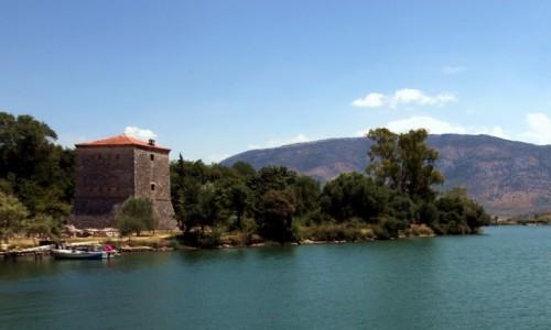 Zdjęcie ALBANIA / Saranda / Butrint  / Wieża wenecka z XV w.