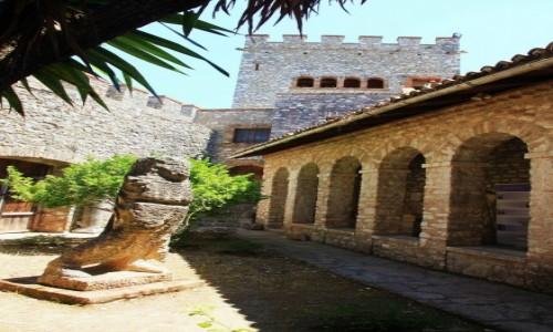Zdjecie ALBANIA / Saranda / Butrint  / W XIV wiecznej
