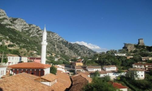 Zdjecie ALBANIA / - / Kruja / Albańskie góry