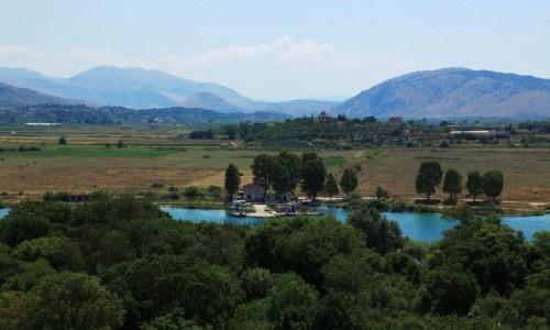 Zdjecie ALBANIA / Saranda / Butrint  / Okolice rzymskiego miasta