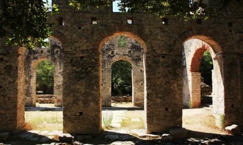 Zdjecie ALBANIA / Saranda / Butrint / Wielka Bazylika. ruiny