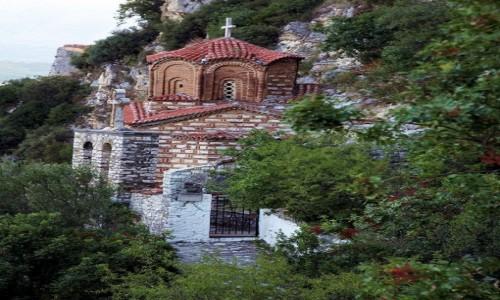 Zdjęcie ALBANIA / Berat / Na stoku wzgórza zamkowego / Cerkiew św. Michała Archanioła