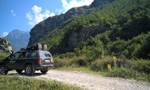 Zdjecie ALBANIA / Szkodra / okolice Theth / ICAN4x4