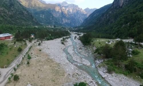 ALBANIA / Północna Albania / Theth z lotu ptaka / ICAN4x4