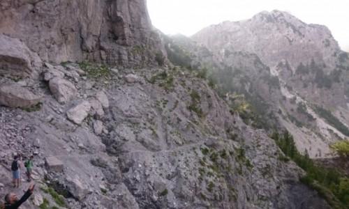 Zdjecie ALBANIA / Szkodra / Theth / szlak z Theth do Valbone