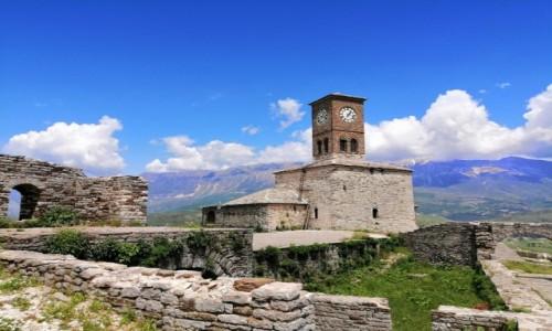 Zdjecie ALBANIA / Gjirokastra / Gjirokastra / Gjirokastra - twierdza