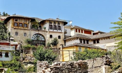 Zdjecie ALBANIA / Gjirokastra / Gjirokastra / Stare Miasto
