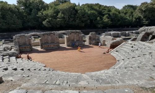 Zdjecie ALBANIA / - / Butrint / Amfiteatr