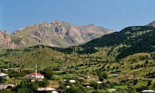 Zdjęcie ALBANIA / brak / Radomire / Typowa górska wioska.