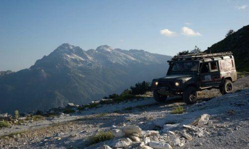 Zdjecie ALBANIA / shkoder / Albańskie Alpy / Off-road