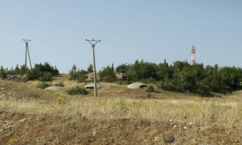 Zdjecie ALBANIA / W drodze do Tirany / Za przejściem granicznym z Macedonią / Moja Albania