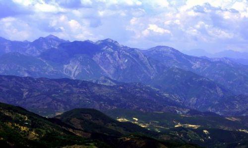 ALBANIA / - / Góry Albanii / Góry o zmierzchu