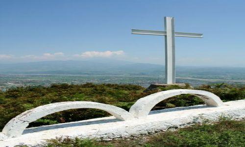 ALBANIA / - / Góry Albanii / Krzyż za barierką