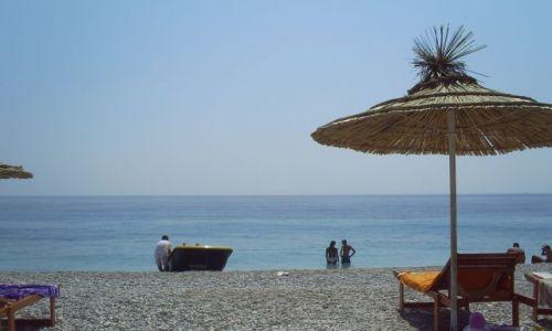 Zdjęcie ALBANIA / bałkany / riwiera albańska / parasolki 5