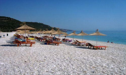 Zdjęcie ALBANIA / bałkany / riwiera albańska / plaża made in Albania