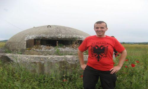Zdjecie ALBANIA / - / Stanowisko strzeleckie / Albańskie stanowisko strzeleckie