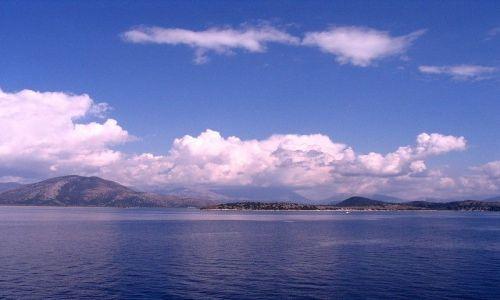Zdjęcie ALBANIA / Morze Śródziemne / wybrzeża Albanii / Albania z morza