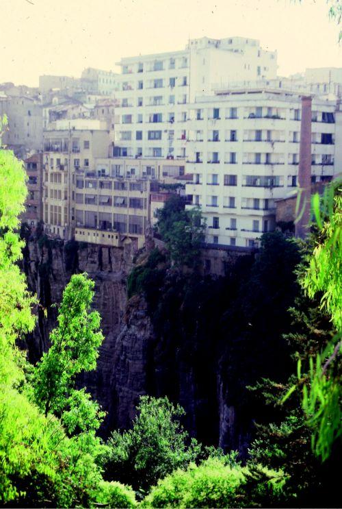 Zdjęcia: Constantine, wschodnia Algieria, constantine -sciana, ALGIERIA