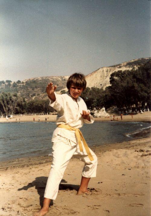Zdjęcia: marsa ben mhidi, zachodnia Algieria, karate na plaży, ALGIERIA