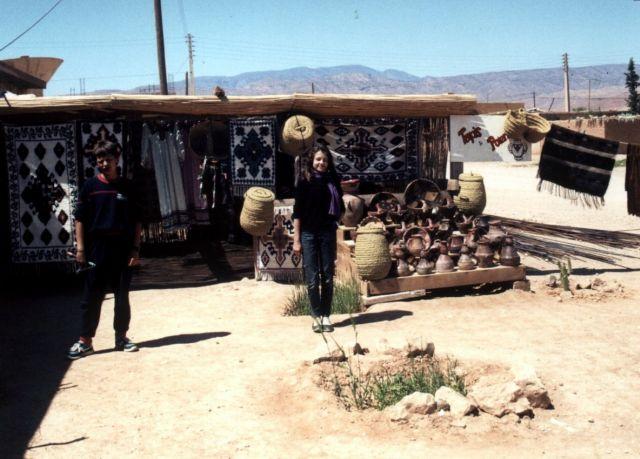 Zdjęcia: Rouffi, w górach Aures, dywany w Rouffi, ALGIERIA