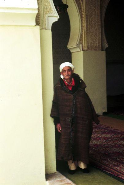 Zdjęcia: Tlemcen, gardien z Sidi Boumediene, ALGIERIA