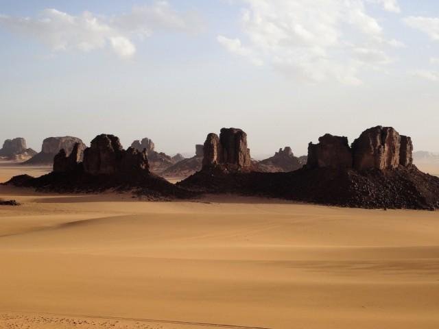 Zdjęcia: Tikoubene, Sahara, 9 dni w 7 niebie: Jak okiem sięgnąć..., ALGIERIA