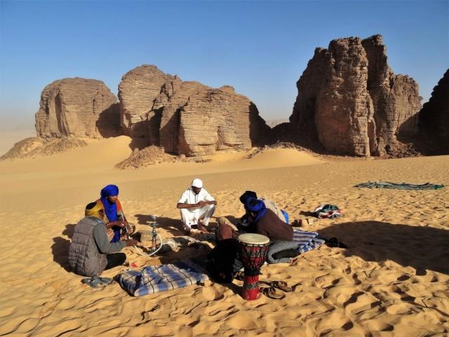 Zdjęcia: Tadrart, Sahara, 9 dni w siódmym niebie - chwila odpoczynku, ALGIERIA