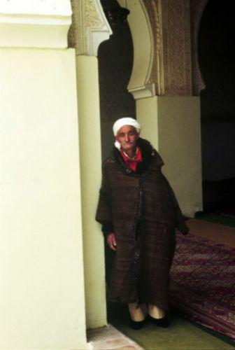 Zdjęcia: Tlemcen, Zachód, gardien z Sidi Boumediene, ALGIERIA