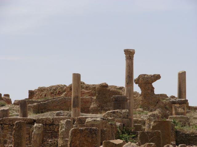 Zdjęcia: Timgad, Timgad, ruiny rzymskiego miasta, ALGIERIA