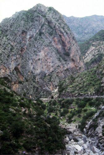 Zdjęcia: Kherata, wschód,, kanion, ALGIERIA