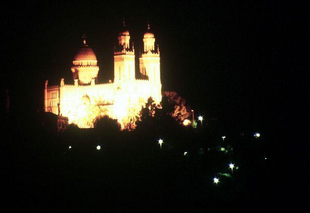 Zdjęcia: Annaba, wschód,, Św Augustyn nocą, ALGIERIA