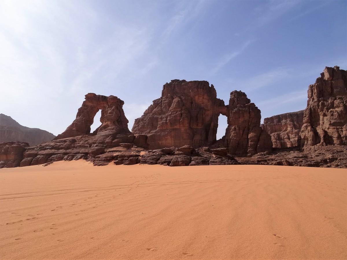 Zdjęcia: Tadrart, Sahara, 9 dni w 7 niebie: Niesłychane bogactwo form skalnych, ALGIERIA