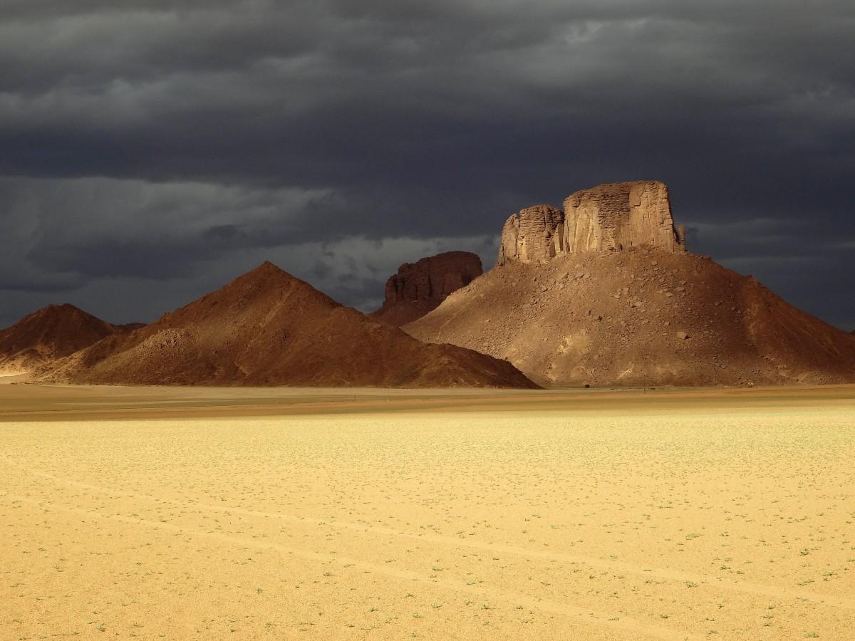 Zdjęcia: Tadrart, Sahara, 9 dni w 7 niebie: Idzie burza, ALGIERIA