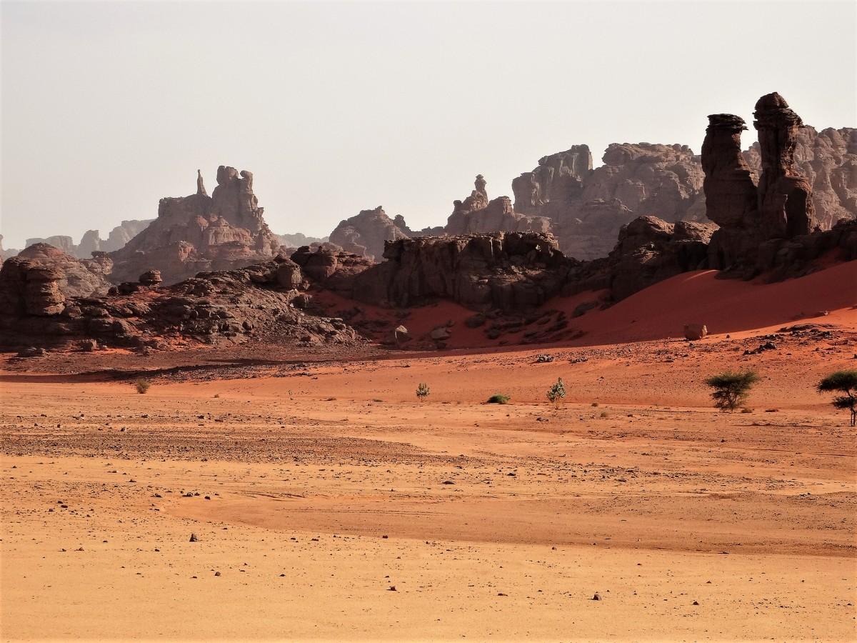 Zdjęcia: Tadrart, Sahara, 9 dni w 7 niebie: Las skalnych iglic, ALGIERIA