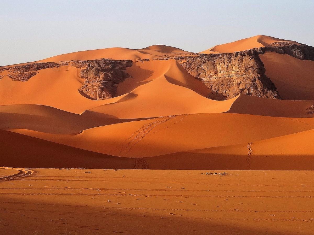 Zdjęcia: Tin Merzouga, Sahara, To także Algieria ;)), ALGIERIA