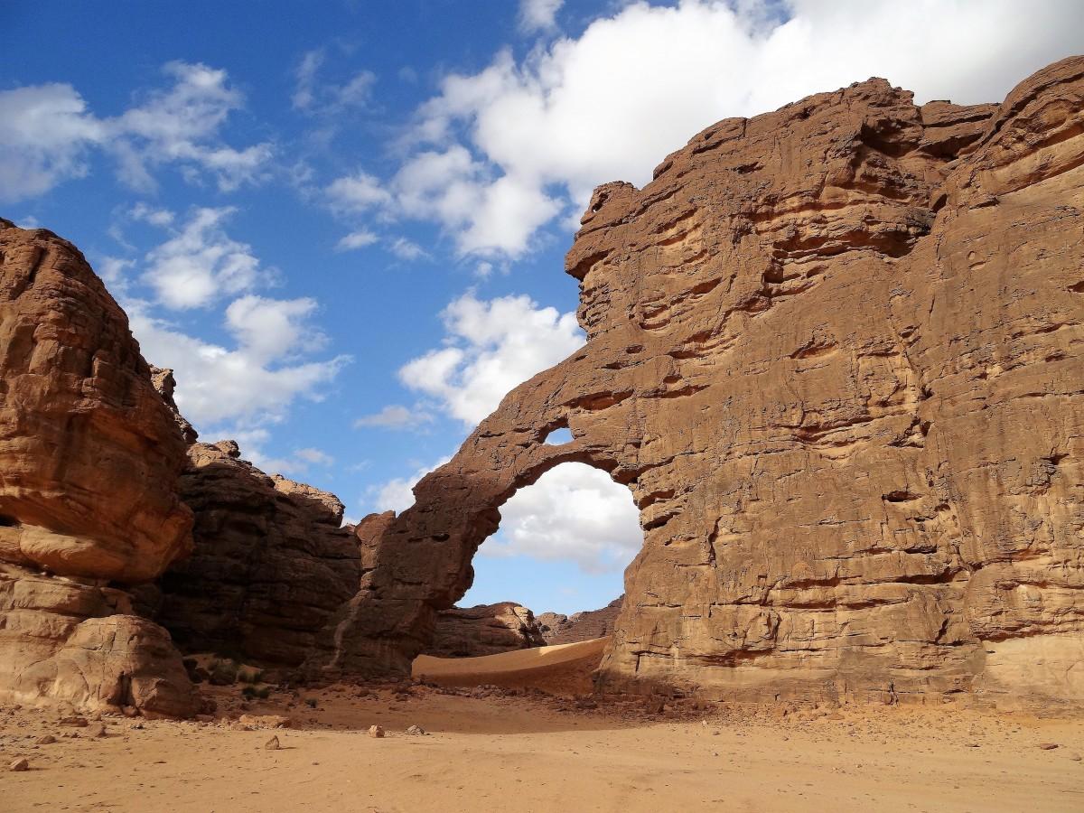 Zdjęcia: Tikoubene, Sahara, 9  dni w  siódmym niebie - Miejsce Miecza, ALGIERIA