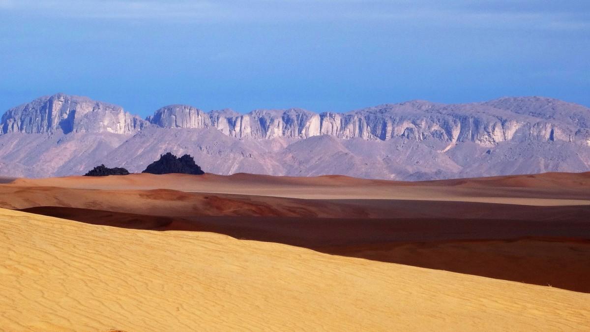Zdjęcia: Tadrart, Sahara, 9  dni w  siódmym niebie: poranek , ALGIERIA