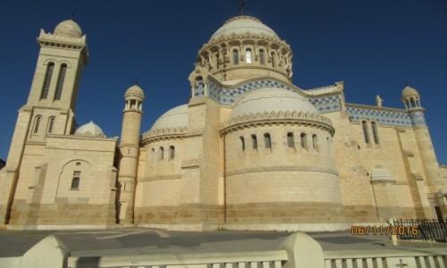Zdjęcie ALGIERIA / Algier / Algier / Bazyilika Notre Dame Afryki