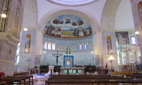 Zdjęcie ALGIERIA / Algier / Algier / Bazylika Notre Dame Afryki - wnętrze