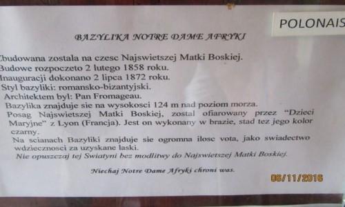 Zdjecie ALGIERIA / Algier / Algier / Bazylika Notre