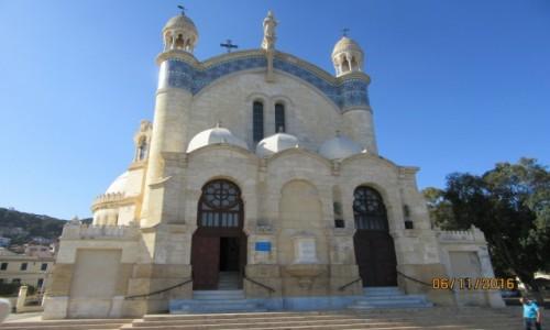 Zdjęcie ALGIERIA / Algier / Algier / Bazylika Notre Dame Afryki