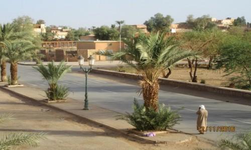 Zdjęcie ALGIERIA / Ilizi / Ilizi / Algieria - miasto Ilizi