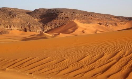 Zdjecie ALGIERIA / Sahara / Tadrart / 9 dni w 7 niebie: Tadrart - i skały, i piach