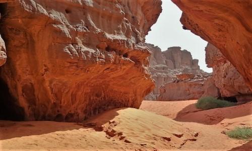 ALGIERIA / Sahara / Tadrart / 9 dni w 7 niebie: W labiryncie