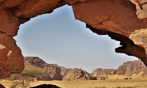 ALGIERIA / Sahara / Tadrart / 9 dni w 7 niebie: Niesłychane bogactwo form skalnych