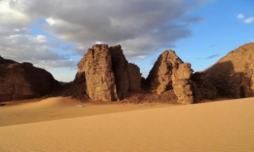 Zdjęcie ALGIERIA / Sahara / Tikoubene / 9 dni w 7 niebie: Cudne miejsce na nocleg