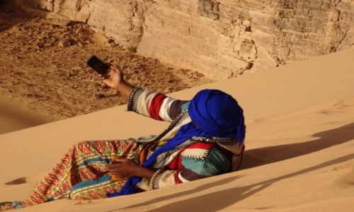 Zdjecie ALGIERIA / Sahara / Tadrart / 9 dni w 7 niebie: Selfie musi być!