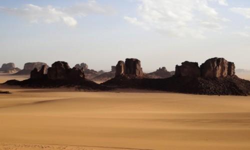 Zdjecie ALGIERIA / Sahara / Tikoubene / 9 dni w 7 niebie: Jak okiem sięgnąć...